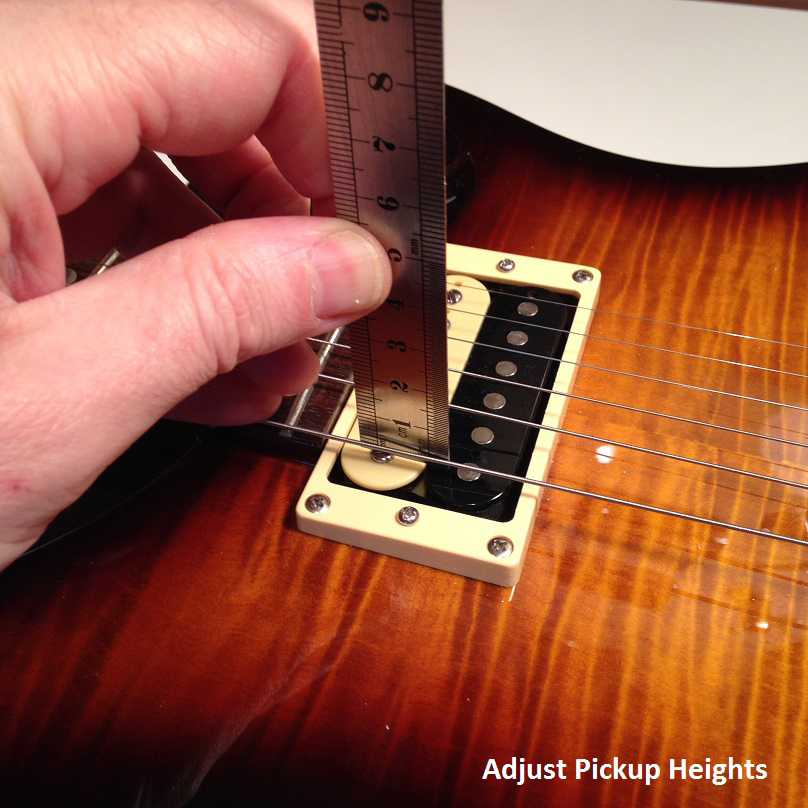 BGT - Bristol Guitar Tech - electric, bass and acoustic guitar setup and repairs - Adjust Pickup Heights