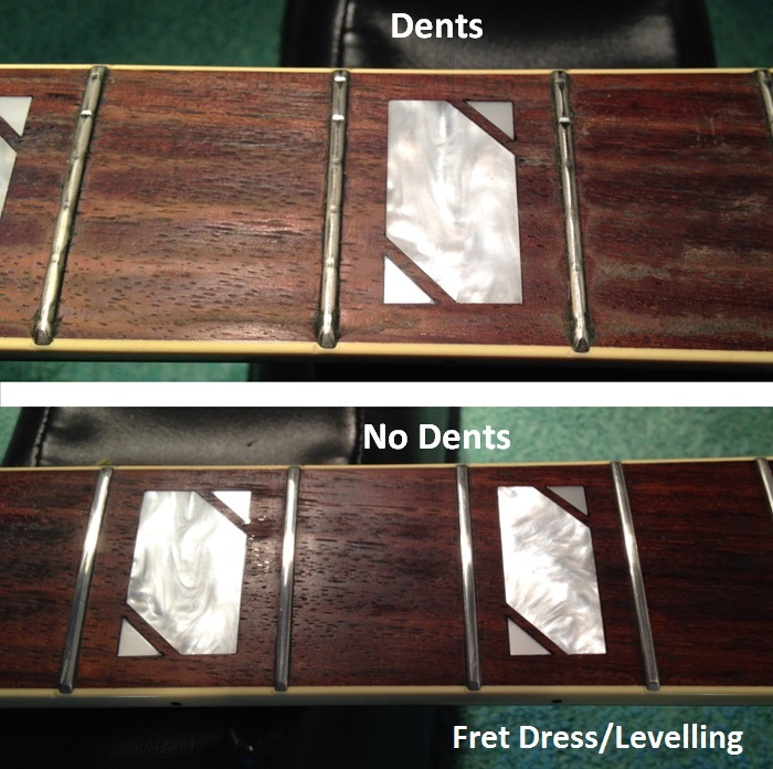 BGT - Bristol Guitar Tech - electric, bass and acoustic guitar setup and repairs - Fret Levelling