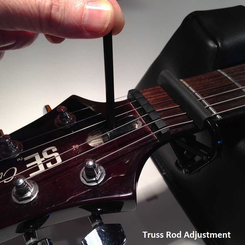 BGT - Bristol Guitar Tech - electric, bass and acoustic guitar setup and repairs - Truss Rod Adjustment